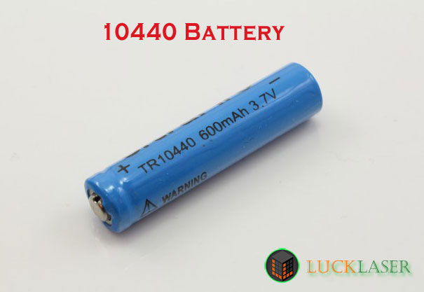10440 Li-ion rechargeable battery