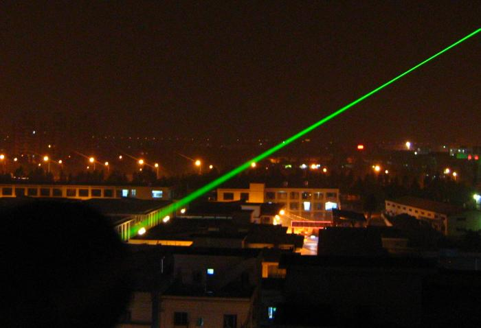 50mW~200mW GREEN LASER POINTER WATERPROOF