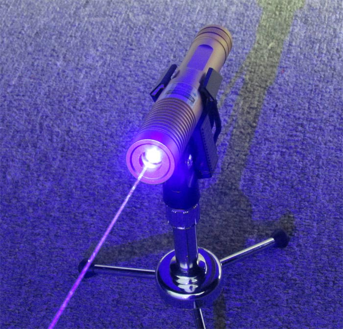 2014 Latest! Golden 2W 445nm blue laser pointer