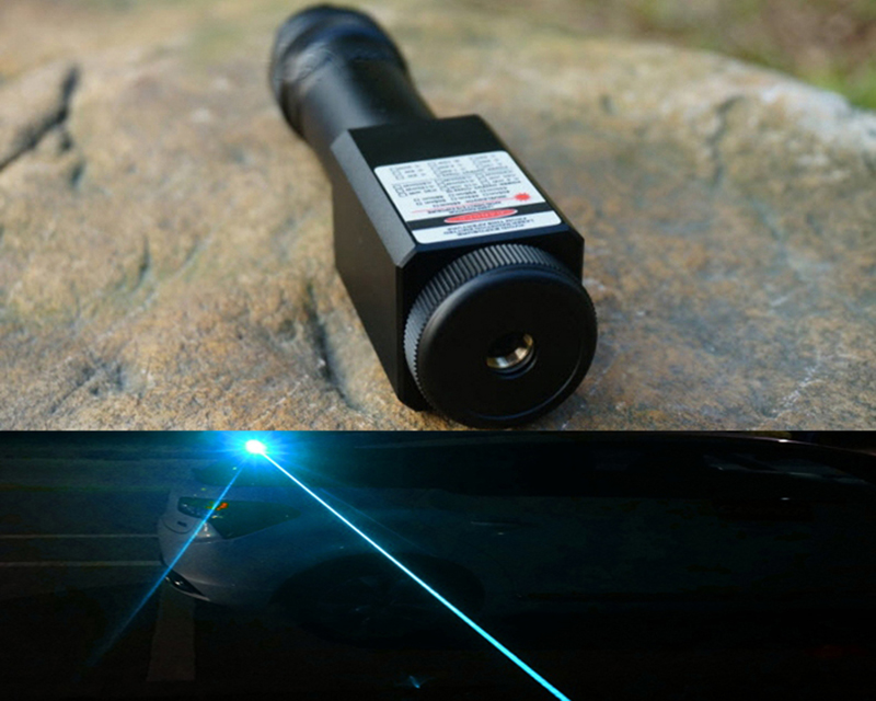 465nm Sky Blue Laser Pointers with Output Power 3-3.5W