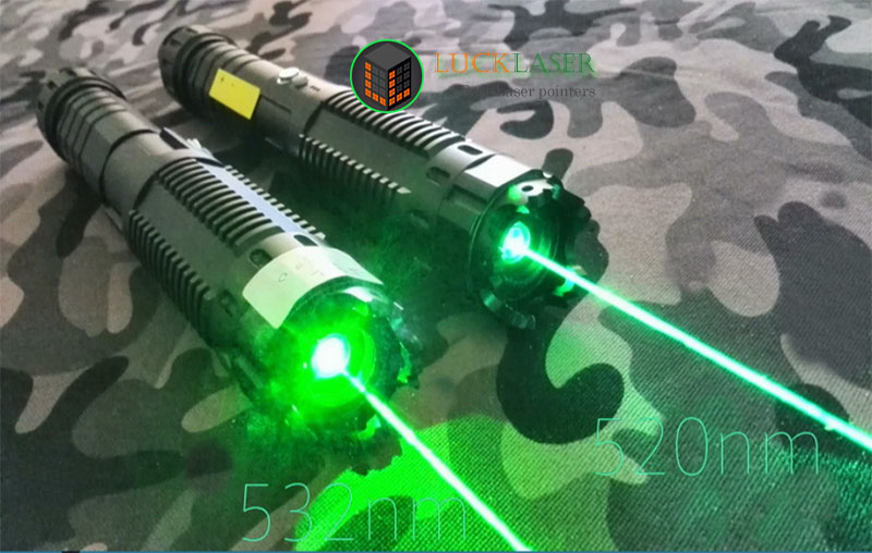520nm 1W Green laser pointer with Pulsating Model