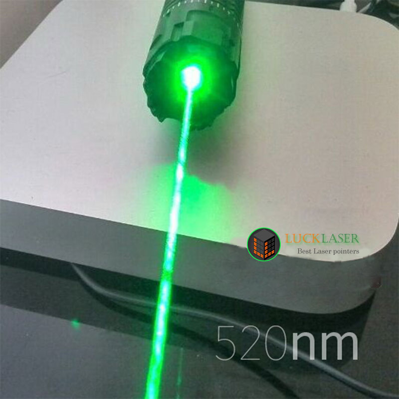 Latest!520nm 1W Green laser pointer with Pulsating Model