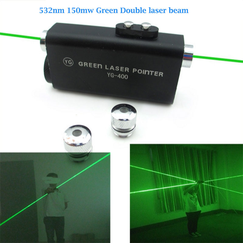 Green 532nm 150mw Double-headed hand-held laser sword Laser dance show props