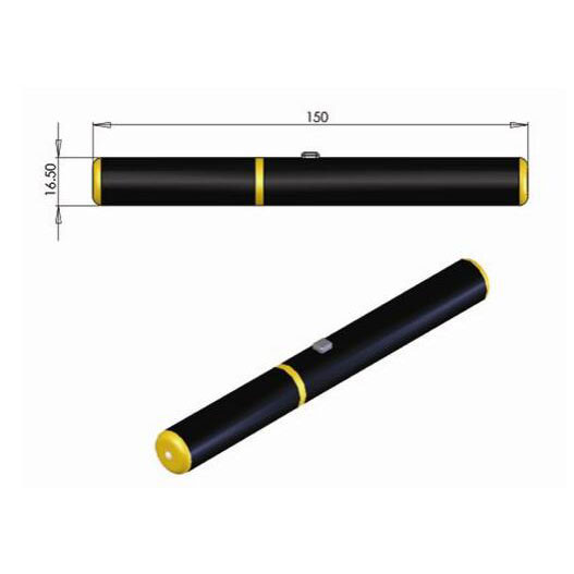589nm 5mW Yellow Laser Pointer Bright Yellow Laser Beam