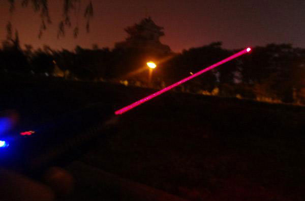 650nm 300mw 500mw 800mw 1000mw Portable red laser pointer laser -- With Pulsating Model