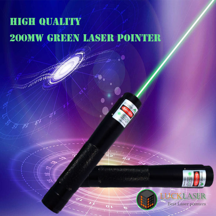 High Quality 200mw green laser pointer Strong bright laser beam