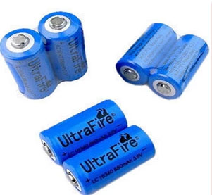 18650 / 16340 Lithium rechargeable battery