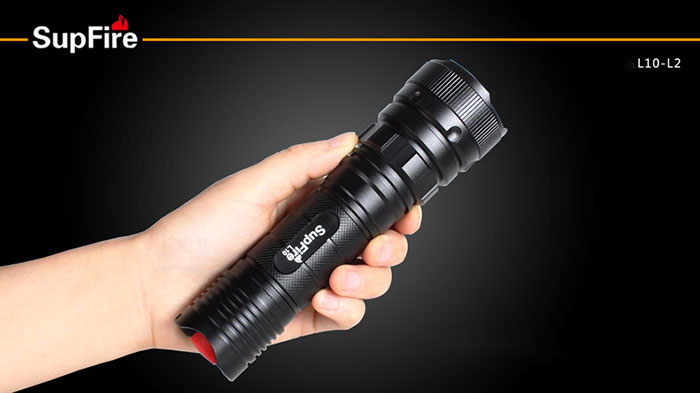 Most brightness LED Flashlight Waterproof and Adjustable with 1198 lumens L2 LED