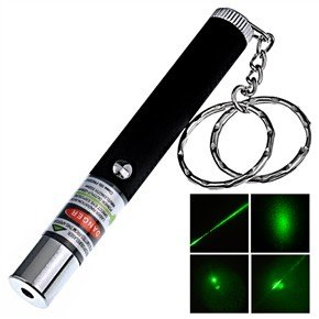 200mw Mini green laser with Carrying Keychain most powerful mini 532nm laser use 10440 battery