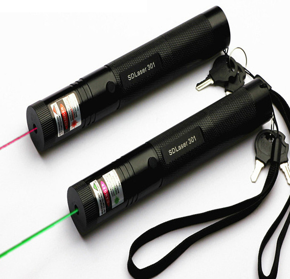 SALE OFF NOW! 200mw green laser & 200mw red laser two laser pointers sold together- Free shipping