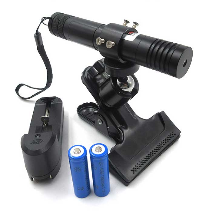 808nm 200mW 500mW High Power Laser Pointer Dot/Line/Crosshair Focus Adjustable
