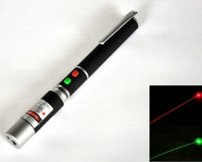 50mw Green and Red laser pointer 2IN1