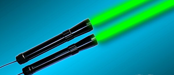 2013 New Green Laser Flashlight 10mw~50mw / Laser Beam Expander