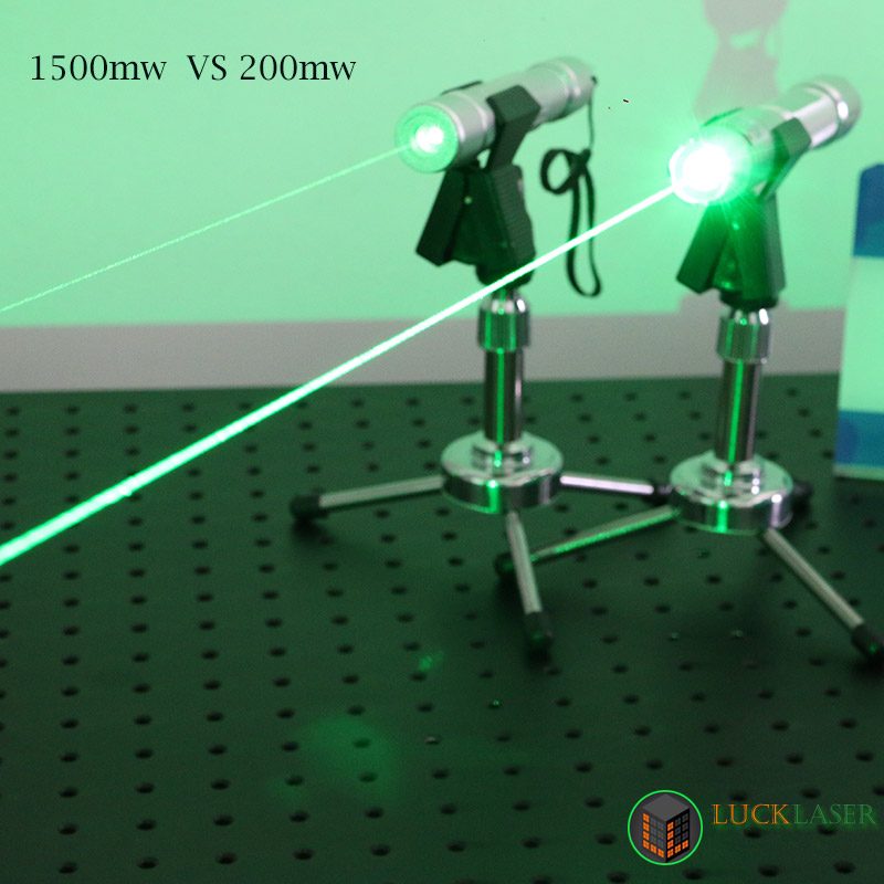 World Most Powerful Green Laser Pointer 1500mW Strong green laser
