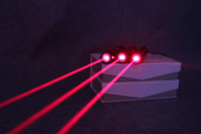 250mW Portable Red 303 laser pointer with saftykey
