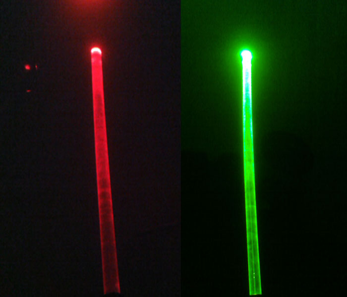 Blue / Green / Red laser glowstick , laser light stick, laser fluorescence stick ,wholesale price