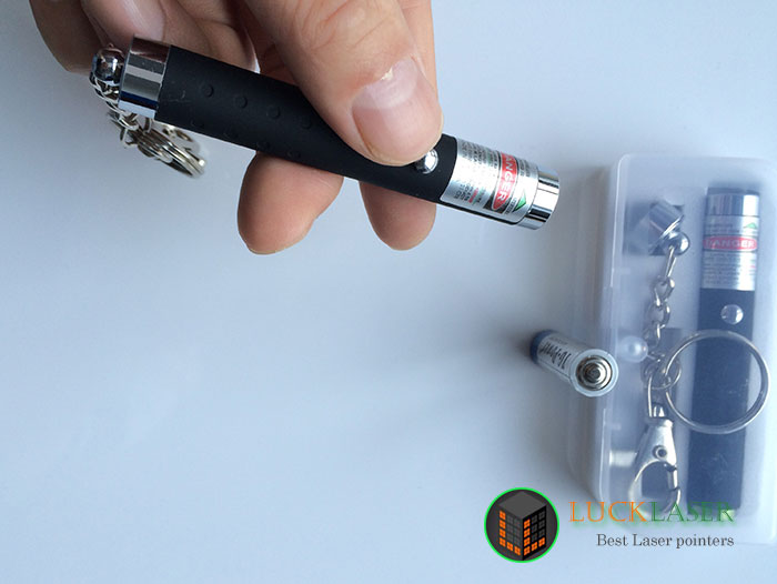 Mini green laser pointer with key chain presenter small lazer pointer