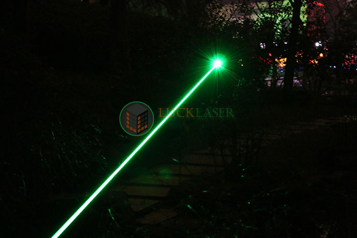 Most powerful green laser poiner