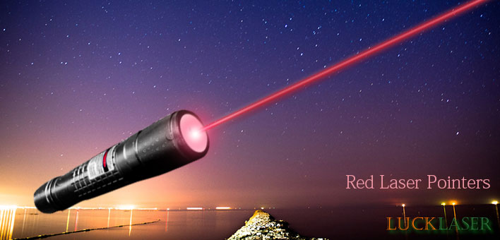 red lazer pointer