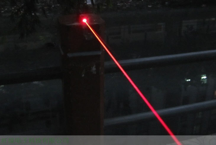 New model red laser 300mw~500mw 638nm 6000m Distance