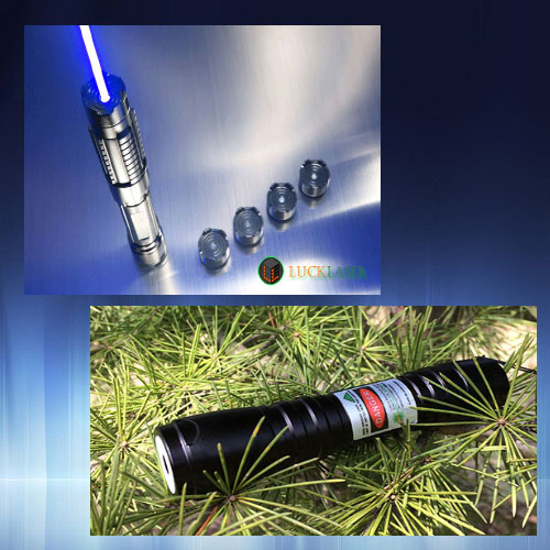 Strong blue laser pointer and small green laser pointer bundle sale