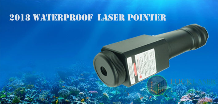 Blue waterproof laser
